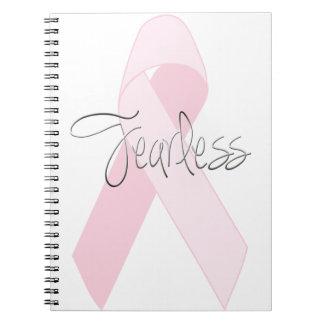 Diario del cáncer de pecho o libro audaz del bosqu libreta