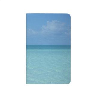 Diario del Caribe del bolsillo del horizonte Cuaderno Grapado