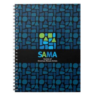 Diario del cuaderno de SAMA - arte del mosaico