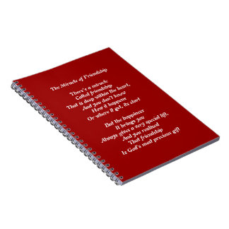 Diario del cuaderno del poema de la amistad