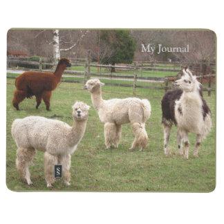 Diario del ~ de la mezcla de la alpaca cuadernos