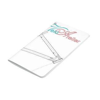 Diario del entrenamiento del taller de Velo Cuaderno Grapado