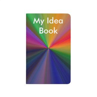 Diario del libro de la idea cuadernos grapados