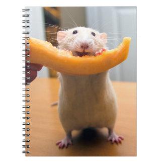 Diario del ratón de Marty Libreta Espiral
