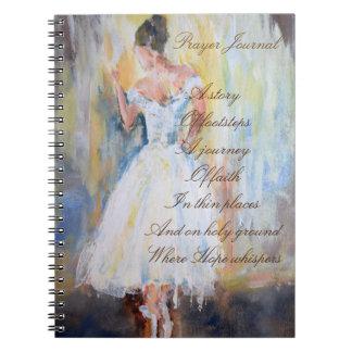 Diario del rezo con el bailarín notebook