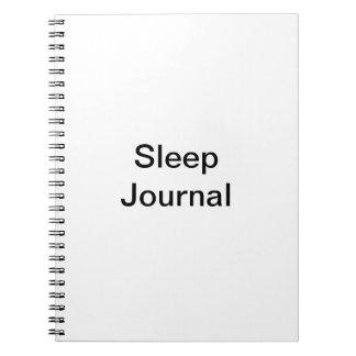 Diario del sueño libretas espirales