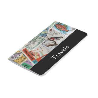 Diario del viaje de los sellos de la isla del vint cuadernos grapados