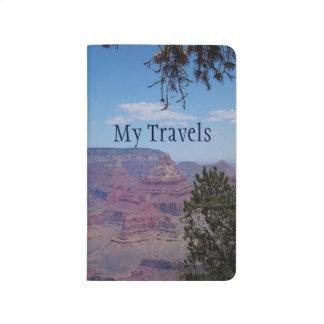 Diario del viaje del bolsillo del Gran Cañón Cuadernos