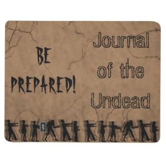 """""""Diario DIARIO de los Undead"""" Cuaderno"""