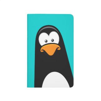 Diario divertido del bolsillo del pingüino del dib cuadernos grapados