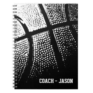 Diario el   del cuaderno del entrenador de béisbol