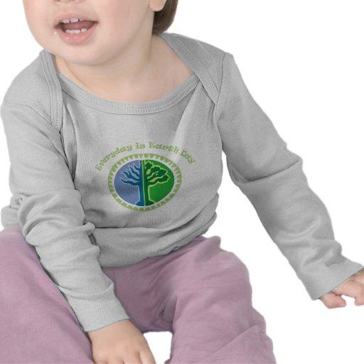 Diario es el Día de la Tierra Camisetas