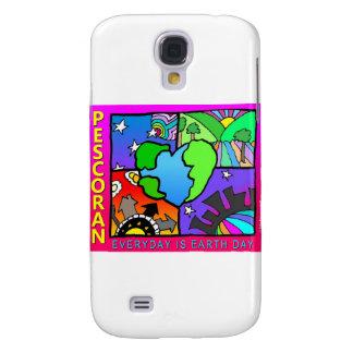 ¡Diario es el Día de la Tierra! Funda Para Galaxy S4