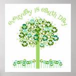 Diario es el Día de la Tierra Poster