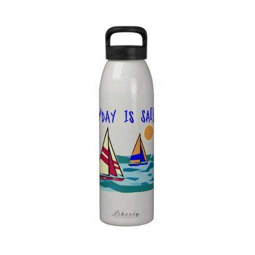Diario es el día de la vela botella de agua