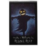 diario es Halloween Calendario