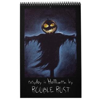 diario es Halloween Calendarios