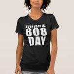 Diario es un día 808 camiseta