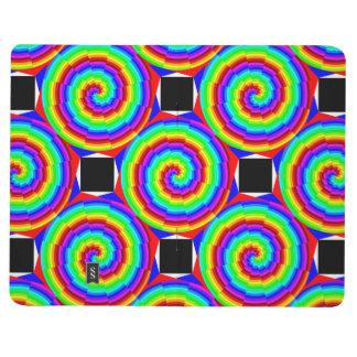 Diario espiral del arco iris cuadernos