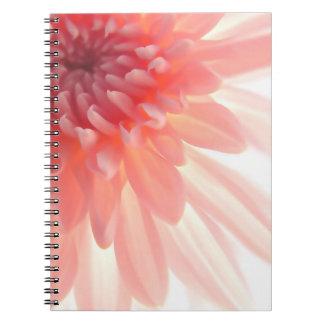 Diario floral del cuaderno de la naturaleza