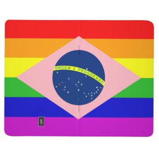 Diario GAY del bolsillo del BRASIL (BANDERA Cuadernos