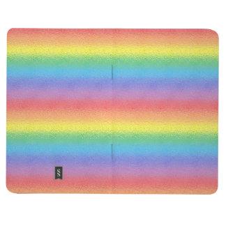 Diario helado del bolsillo del arco iris cuadernos