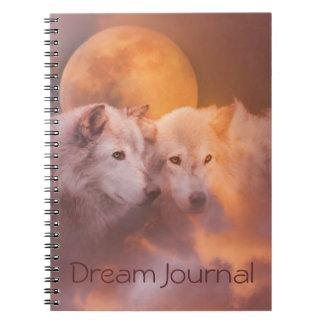 Diario ideal espiritual de los lobos libro de apuntes