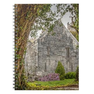 Diario irlandés del encanto libros de apuntes