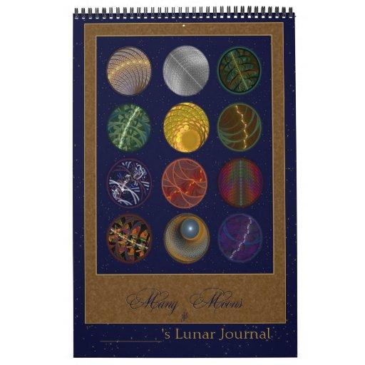 Diario lunar calendario