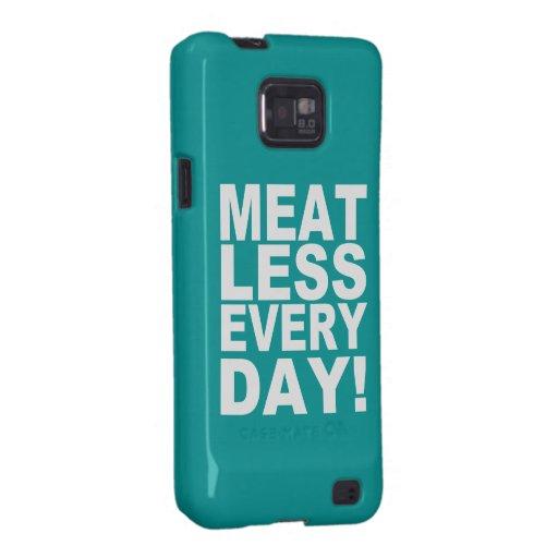 Diario Meatless Galaxy S2 Carcasa