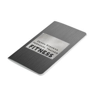 Diario negro del bolsillo de la aptitud de la cuadernos