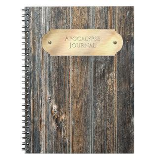 Diario para la apocalipsis note book