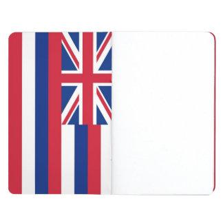 Diario patriótico con la bandera de Hawaii Cuaderno