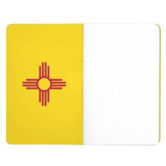 Diario patriótico con la bandera de New México Cuadernos Grapados