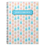 Diario personal de las medusas coloridas femeninas libros de apuntes