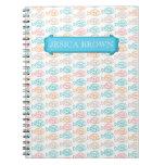 Diario personal de los pescados coloridos cuaderno
