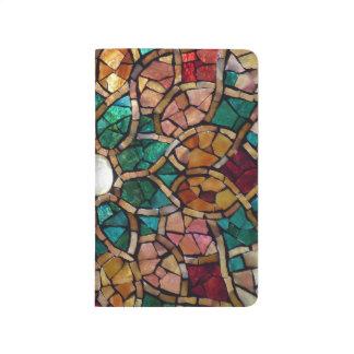 """Diario personal """"otoño """" del mosaico del vitral cuadernos"""