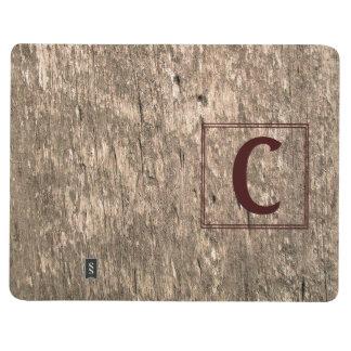 Diario personal resistido C-Con monograma de Cuaderno