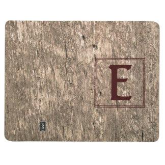 Diario personal resistido E-Con monograma de Cuadernos Grapados