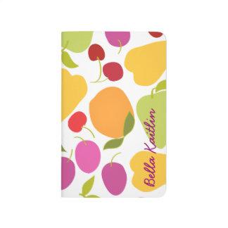 Diario personalizado del bolsillo de la ensalada cuaderno grapado
