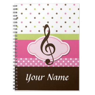Diario personalizado Noteboo de la práctica de la  Cuadernos