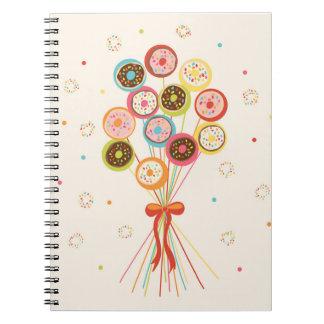"Diario - ""ramo del buñuelo "" libro de apuntes con espiral"