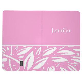 Diario rosado del modelo de Beardsley Nouveau Cuadernos