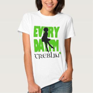 Diario soy la camisa para mujer 2 de Treblin