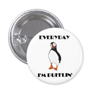Diario soy pájaro del frailecillo de Pufflin Pin