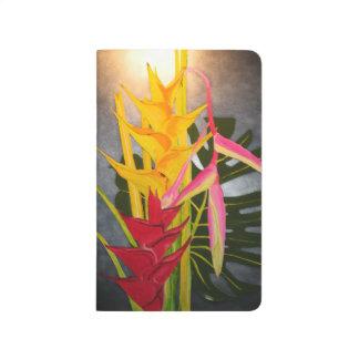 Diario tropical de pintura de Blossums Cuaderno