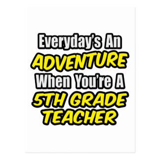 Diario un 5to profesor del grado de la aventura… postales