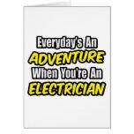 Diario un electricista de la aventura… tarjetas