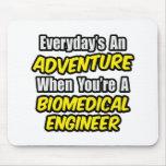 Diario un ingeniero biomédico de la aventura… alfombrillas de ratón