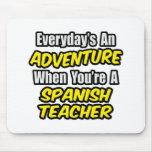 Diario un profesor español de la aventura… alfombrilla de raton